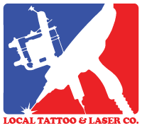 Local Tattoo and Laser Co. Logo Lansing Michigan