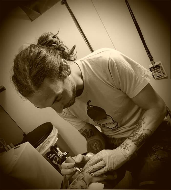Local Tattoo Lansing Michigan Jay Ellis tattoo artist profile